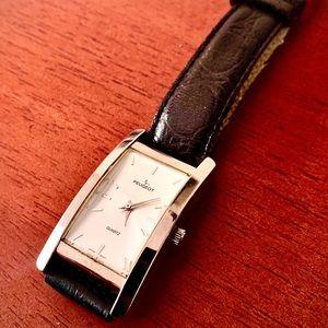 Peugeot Vintage Leather Watch